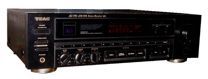 TEAC AG-750 Receiver